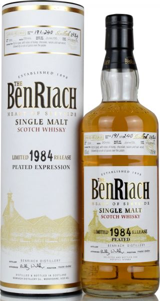 Benriach Peated 20 Jahre 1984/2005 Single Cask #594 60,0% vol.