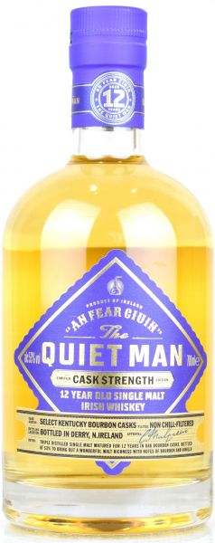 The Quiet Man 12 Jahre Limited Cask Strength Edition 53% vol.