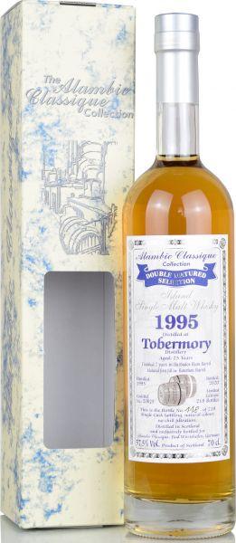 Tobermory 25 Jahre 1995/2020 Barbados Rum Barrel Alambic Classique 57,5% vol.