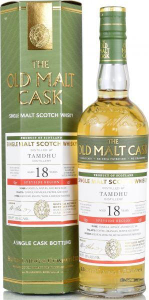 Tamdhu 18 Jahre 2001/2020 Hunter Laing Old Malt Cask 50% vol.