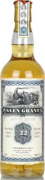 Glen Grant 22 Jahre 1995/2018 Jack Wiebers Old Train Line 48,3% vol.