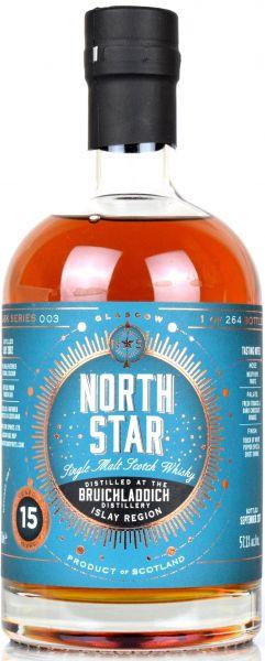 Bruichladdich 15 Jahre 2002/2017 Radoux French Oak North Star Spirits #003 57,1% vol.