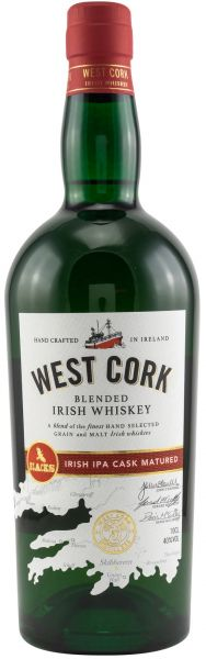 West Cork IPA Cask Finish 40% vol.