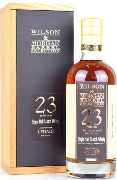 Ledaig 23 Jahre 1998/2021 Sherry Cask Wilson & Morgan 57,1% vol.