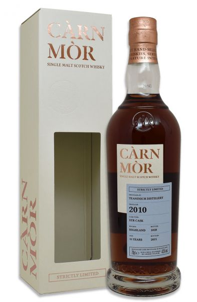 Teaninich 11 Jahre 2010/2021 STR Cask Carn Mor Strictly Limited 47,5% vol.