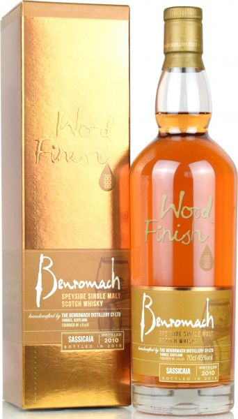 Benromach 2010/2018 Sassicaia Wood Finish 45% vol.