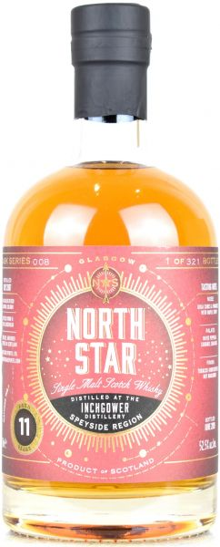Inchgower 11 Jahre 2008/2019 North Star Spirits #008 52,5% vol.
