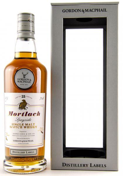 Mortlach 25 Jahre Gordon & MacPhail Distillery Label