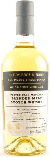 Peated Cask Blended Malt Berry Bros. & Rudd 44,2% vol.