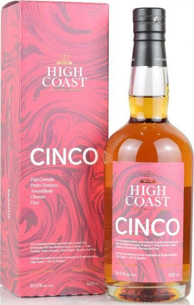 High Coast Cinco Sherry Casks 50,5% vol.