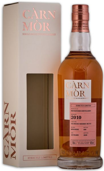 Benrinnes 10 Jahre 2010/2020 Oloroso Sherry Cask Carn Mor Strictly Limited 47,5% vol.