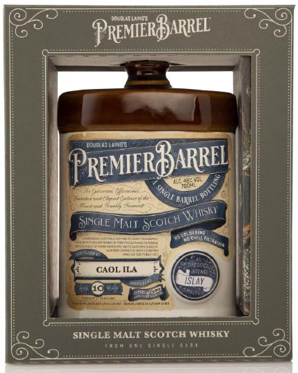 Caol Ila 10 Jahre Premier Barrel Douglas Laing 46% vol. (ohne OVP)