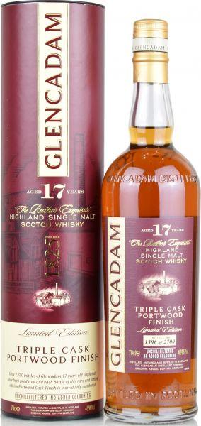 Glencadam 17 Jahre Portwood Triple Cask