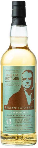 Ardmore 6 Jahre 2013/2020 Apple Brandy Cask Idols of Scotland 46,5% vol.