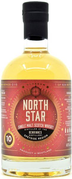 Benrinnes 10 Jahre 2021/2021 North Star Spirits #015 for The Good Spirits 60,9% vol.