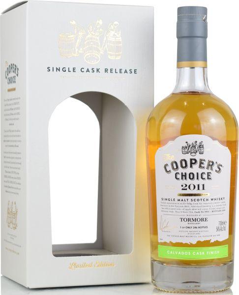 Tormore 9 Jahre 2011/2020 Calvados Cask Cooper's Choice 54% vol.