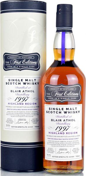 Blair Athol 23 Jahre 1997/2021 Sherry Cask First Editions 55,3% vol.