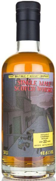 Caperdonich 22 Jahre Batch #5 That Boutique-y Whisky Company 48,6% vol.