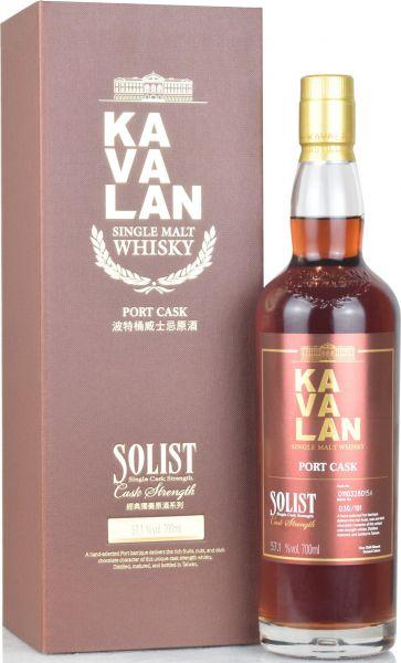 Kavalan Solist Port Cask 57,1% vol.