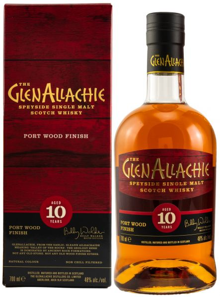 Glenallachie 10 Jahre Ruby Port Pipe Finish 48,0% vol.