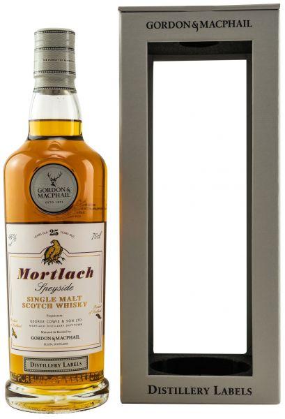 Mortlach 25 Jahre Gordon & MacPhail Distillery Label 46% vol.