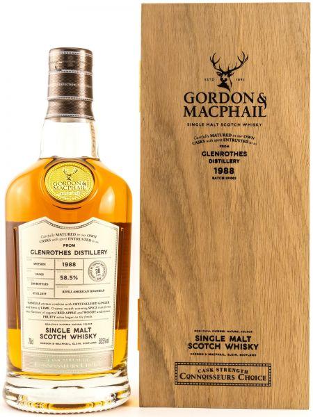 Glenrothes 30 Jahre 1988/2019 Gordon & MacPhail 58,5% vol.