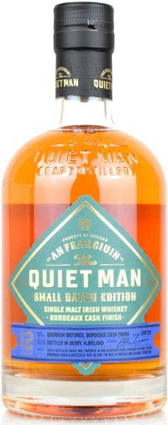 The Quiet Man 12 Jahre Small Batch Bordeaux Finish