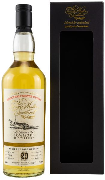 Bowmore 23 Jahre 1996/2019 Sherry Cask The Single Malts of Scotland 56,1% vol.