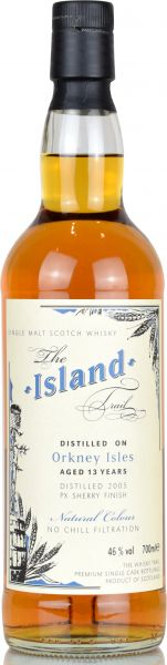 Orkney 13 Jahre PX Sherry Finish The Island Trail 46% vol.