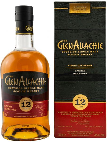 Glenallachie 12 Jahre Spanish Oak Finish Virgin Oak Series 48% vol.