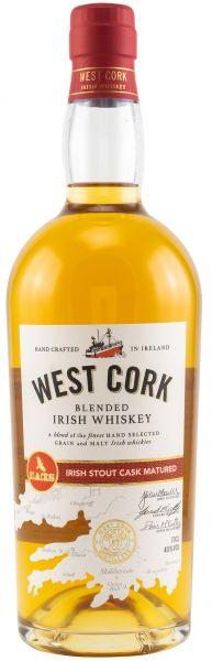 West Cork Irish Stout Cask Finish 40% vol.