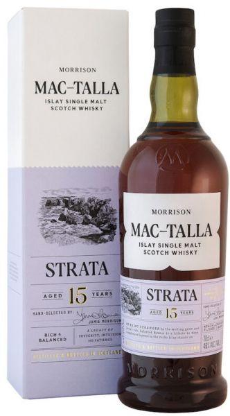 Mac-Talla Strata 15 Jahre Islay Single Malt Whisky 46% vol.