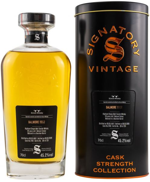 Dalmore 28 Jahre 1992/2020 Signatory Vintage Cask Strength Collection #1746 45,2% vol.