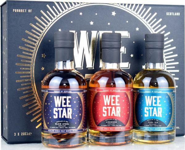 WEE Star Pack North Star Spirits - Linkwood 2006, Blair Athol 2006, Caol Ila 2012