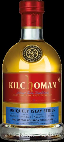 Kilchoman 2010/2020 Bourbon Cask Uniquely Islay An Geamhradh #7/7 56,5% vol.
