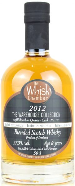 The Warehouse Collection Vol. I 2012/2020 The Whisky Chamber 57,3% vol.