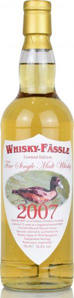 Orkney 13 Jahre 2007/2020 Whisky-Fässle Duck-Label 49,1% vol.