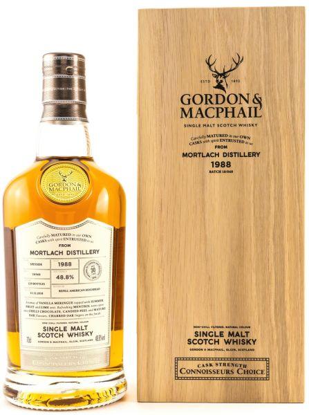 Mortlach 30 Jahre 1988/2018 Gordon & MacPhail 48,8% vol.