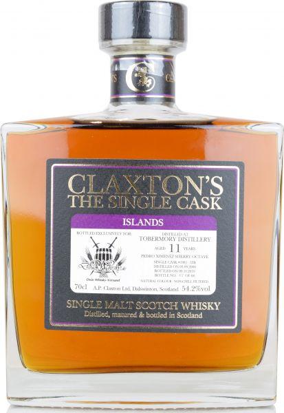 Tobermory 11 Jahre 2008/2019 PX Sherry Claxton's for deinwhisky.de 54,2% vol.