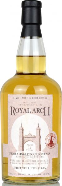 Fettercairn 12 Jahre Royal Arch 2006/2018 Spirit Still for Munich Whisky Market 48,1% vol.