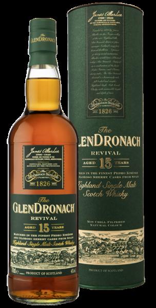 Glendronach 15 Jahre Revival / 2020 (OVP defekt)
