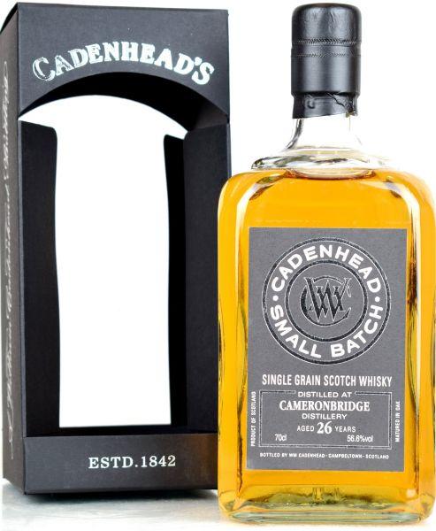 Cameronbridge 26 Jahre 1989/2015 Cadenheads 56,6% vol.