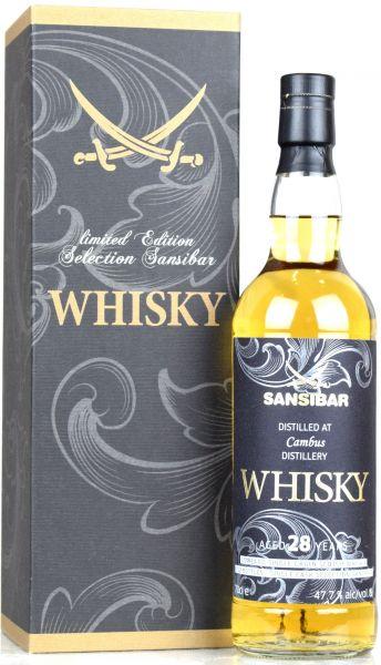 Cambus 28 Jahre 1991/2019 Sansibar Whisky 47,7% vol.