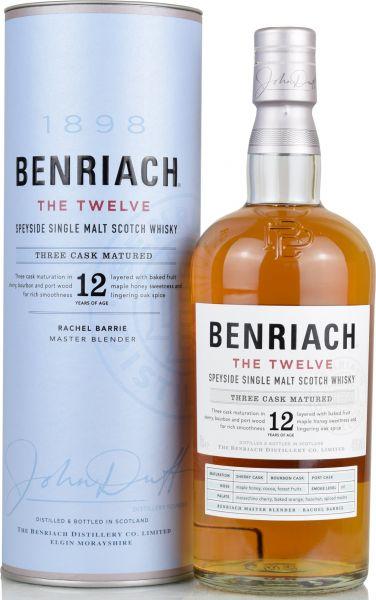 Benriach 12 Jahre The Twelve Three Cask Matured