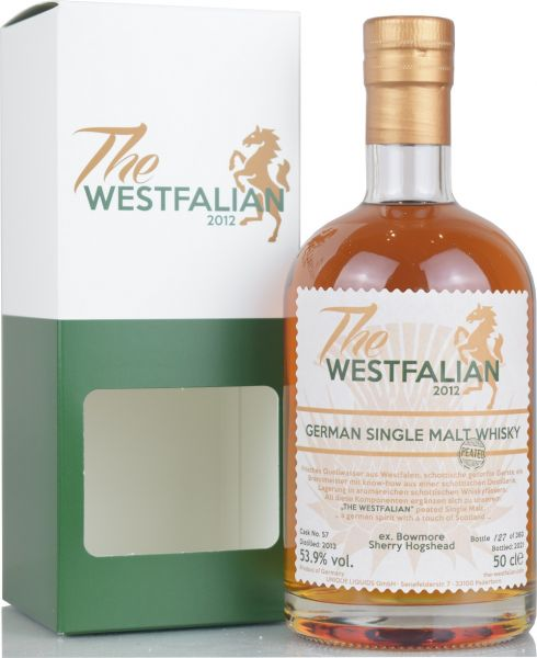 The Westfalian peated 2013/2021 Ex-Bowmore Sherry Hogshead #57 53,9% vol.