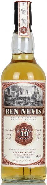 Ben Nevis 19 Jahre 1997/2017 Jack Wiebers Christmas Edition 2017 51,6% vol.