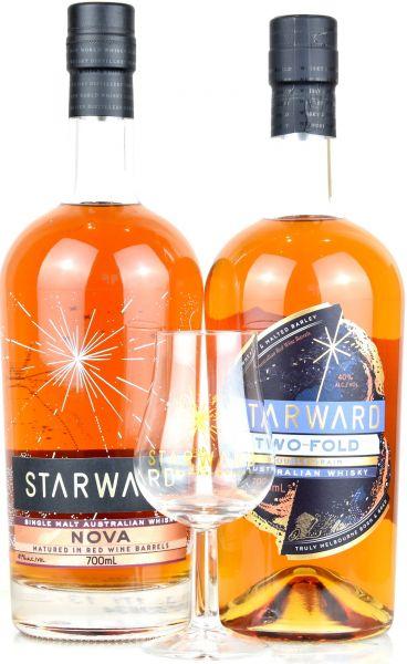 Starward-Set - Nova + Two Fold mit gratis Starward-Tastingglas