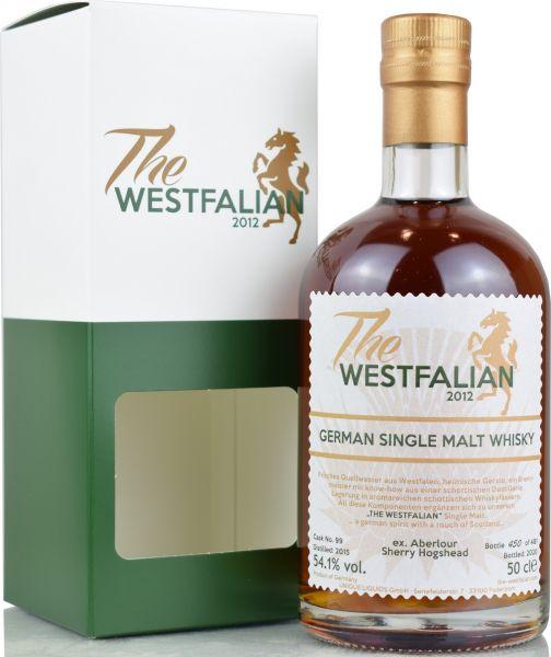 The Westfalian 2015/2020 Ex-Aberlour Sherry Hogshead #99 54,1% vol.