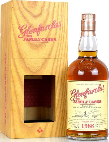 Glenfarclas 30 Jahre 1988/2018 Family Casks S18 #7054