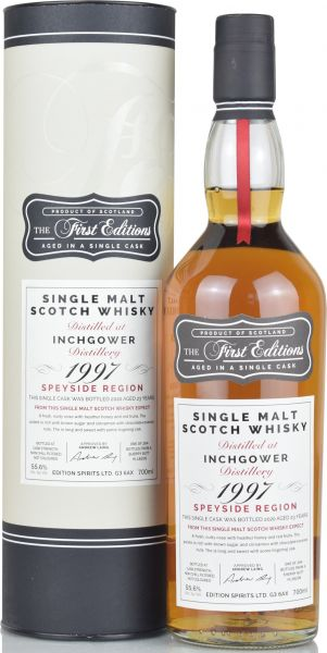 Inchgower 23 Jahre 1997/2020 Sherry Cask First Editions 55,6% vol.